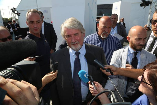 Il ministro del lavoro Poletti (foto Schicchi)