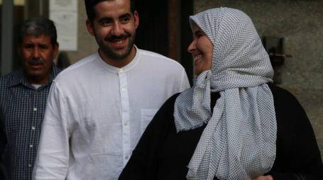 Jalal El Hanaoui esce dal Tribunale di Pisa dopo la sentenza (foto Valtriani)