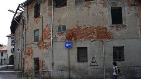 L'edificio di via Fabio Filzi