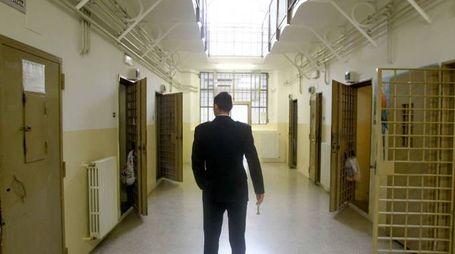Il carcere di Sondrio (nat.P.)