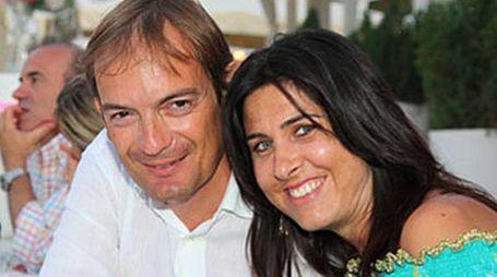 Matteo Cagnoni con la moglie uccisa Giulia Ballestri (Zani)
