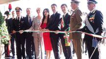 Inaugurazione della Scuola Marescialli dei Carabinieri (New Press Photo)