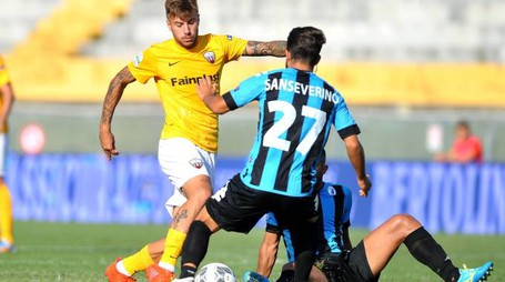 Ascoli sconfitto 2-1 a Pisa (LaPresse)