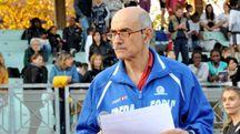 Daniele Casamenti al campo di Atletica Gotti e con la divisa dell'Edera, in pratica la sua seconda casa e famiglia