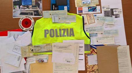 La refurtiva recuperata dalla polizia anticrimine di Fermo