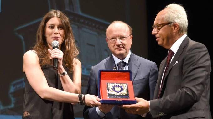 Premio Estense alla giornalista del 'Carlino', Sabrina Pignedoli (Businesspress)