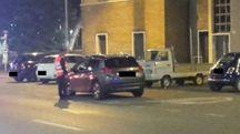 I carabinieri hanno portato in caserma sette stranieri