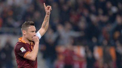 Francesco Totti in una foto del 2014 (Ansa)