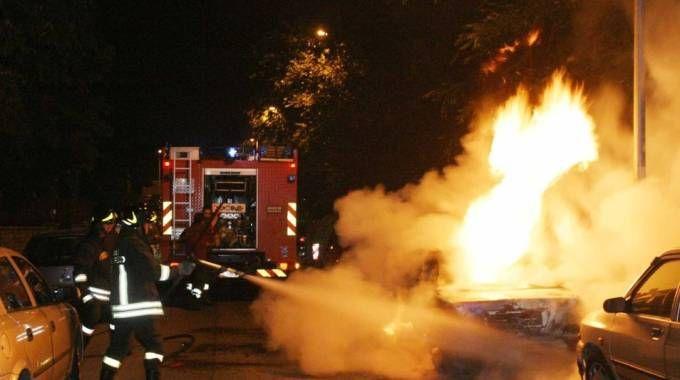 Subito dopo lo schianto la macchina del militare ha preso fuoco e lui è morto carbonizzato