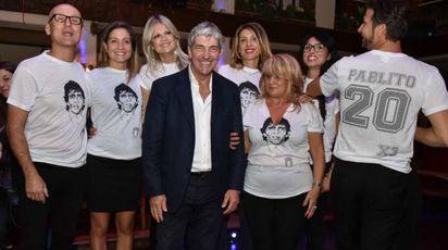 Paolo Rossi festeggia in Capannina (Foto Nizza)