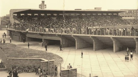 29 settembre '66, inaugurazione ufficiale: Ra-Juve 0-3, la tribuna coperta