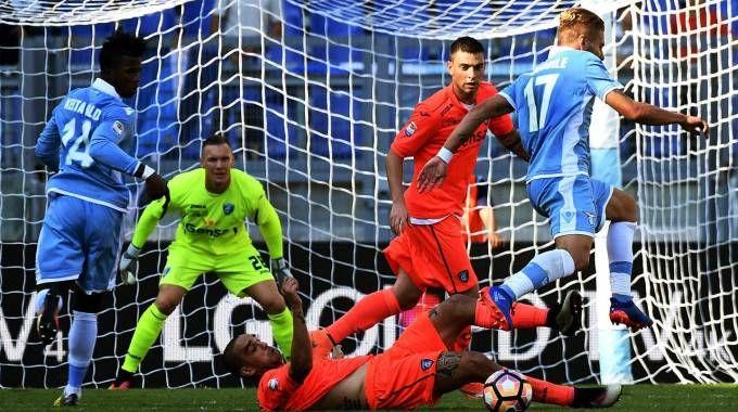 Lazio-Empoli 2-0, un attacco dei padroni di casa