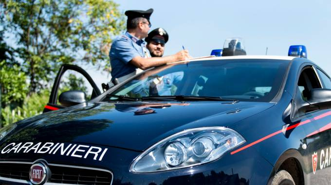 Intervento delle forze dell'ordine