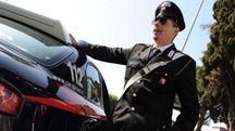 L'uomo è stato preso dai carabinieri