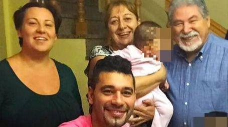 Le famiglie Tizzani: quella del padre e del figlio Paolo