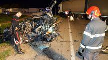 Bellaria, l'incidente mortale avvenuto subito dopo la Tolemaide (Foto Migliorini)