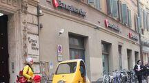 Banca Marche, la sede di Pesaro (Fotoprint)