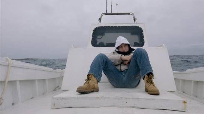 Uan foto di scena di Fuocoammare, film italiano candidato all'Oscar (Ansa)