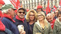 Paolo Gozzani durante una recente manifestazione a Massa (foto di repertorio)