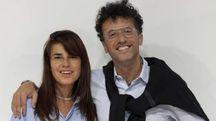 Massimiliano Bizzi insieme alla moglie Brenda Bellei Bizzi (eva desiderio)