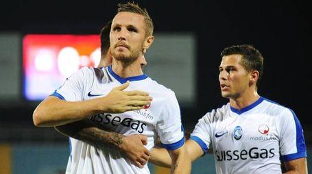 Kurtic ha segnato un gol di petto contro il Crotone