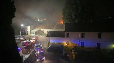 Incendio alla Fossati Lamperti