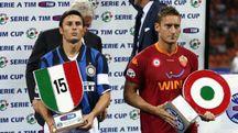Javier Zanetti e Francesco Totti
