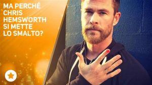 Chris Hemsworth tutto muscoli... e un cuore d'oro