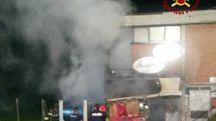 Incendio a Prato