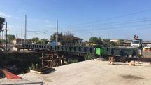 Nuovo ponte ferroviario sulla Pisa-La Spezia tra Viareggio e Pietrasanta
