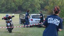 Modena, omicidio sulla strada per Albareto (Foto Fiocchi)