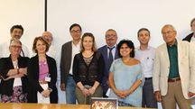 Una foto di gruppo durante l'incontro a Montecatone
