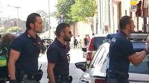 Ferrara, la Polizia blocca l'aggressore (Foto BusinessPress)