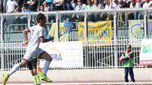 Un calciatore (foto IsolaPress)
