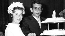 La foto di Francesca e Vincenzo nel giorno felice del loro matrimonio