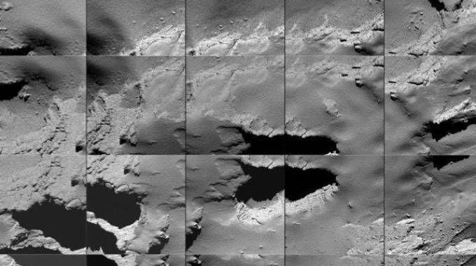 Rosetta porta a termine la sua missione (Ansa)