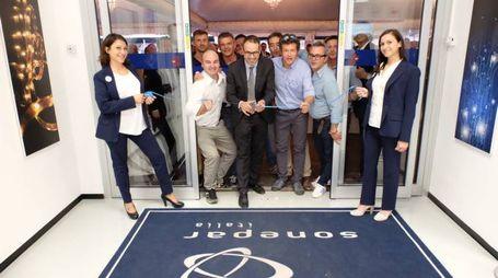 Carpi, l'inaugurazione della nuova sede della Sonepar Italia (Foto Saracino)