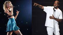 Taylor Swift e Kanye West (combo)