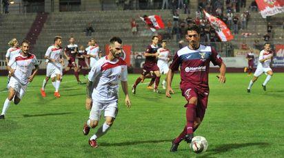 La partita tra Fano e Maceratese (FotoPrint)