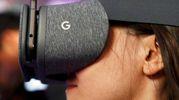 Il visore Google Daydream View (LaPresse)