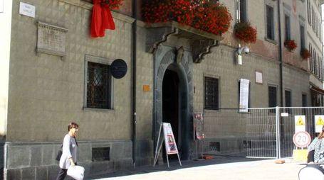 Le aree di Palazzo Pretorio interessate dai lavori (Nat.P.)