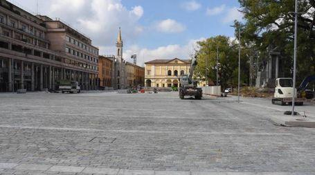 La nuova piazza della Vittoria (foto Artioli)