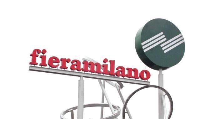 Il logo di Fiera Milano spa