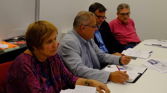 Rita Pavan, Maurizio Laini, Luigi Soldavini e Marco Viganò