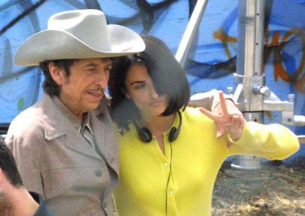 Con l'attrice Penelope Cruz (Olycom)