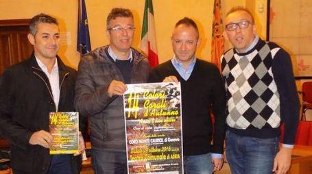 Federico Simoni, Massimo Barbujani,  Daniele Lucchiari e Cristiano Roccato