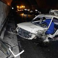 L'incidente all'interno della galleria di Biassa (Foto Frascatore)