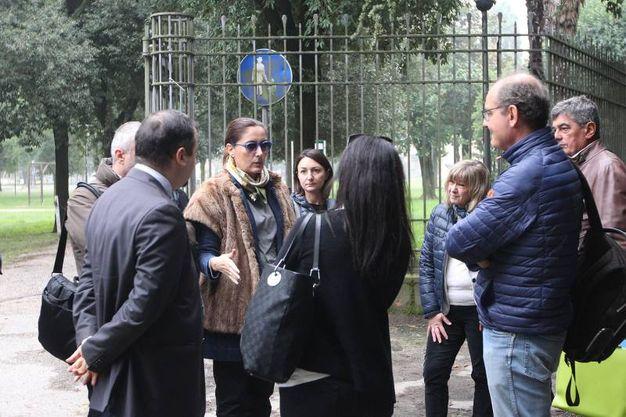 I periti e i consulenti delle parti per l'omicidio di Giulia Ballestri (foto Zani)