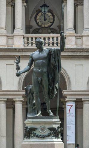 Il Napoleone di Brera dopo il restauro