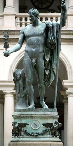 Il Napoleone di prima del restauro